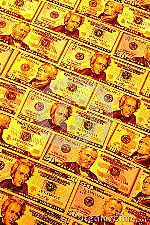Golden money
