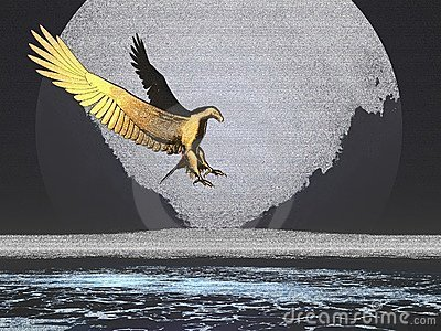 Golden Moon Eagle