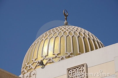 Golden Mosque Cupola