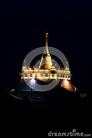 Golden mount temple, bangkok, thailand