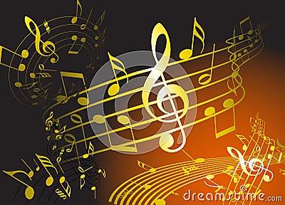 Golden music theme