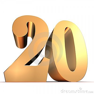 golden number 20 stock photography image 15435752 clipart sound clipart sound animation and graphics