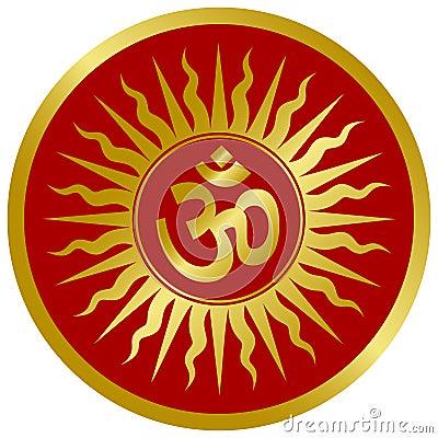 Golden Om Design