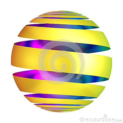 Free Golden Ornament Ball Decorative Sphere Stock Photography - 47149962