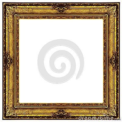 Golden Ornate Frame