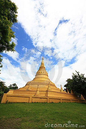 Free Golden Pagoda Stock Photo - 16454530