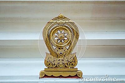 Golden  parapet