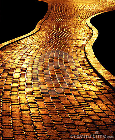 Free Golden Path Stock Photography - 22923882