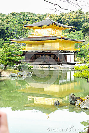 The Golden Pavilion in Kyoto, Japan
