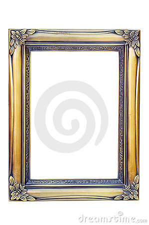 Free Golden Photo Frame Royalty Free Stock Photography - 2368257