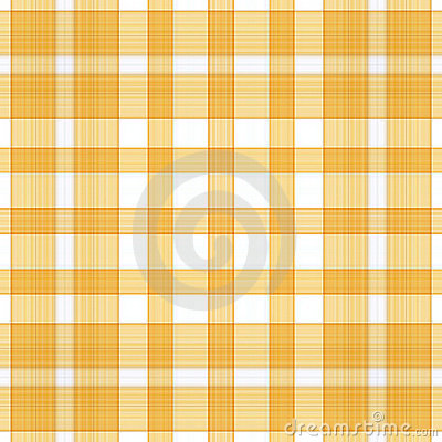 Golden Plaid Background