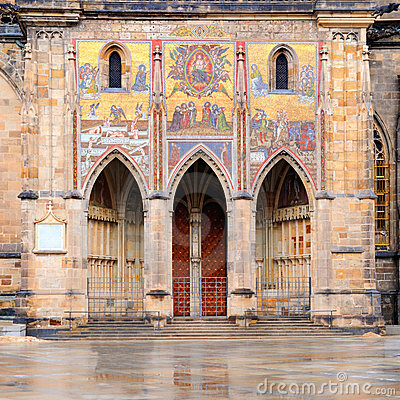 The Golden Portal, St Vitus Cathedral