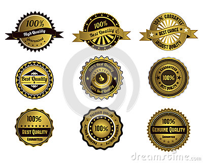 Golden quality labels