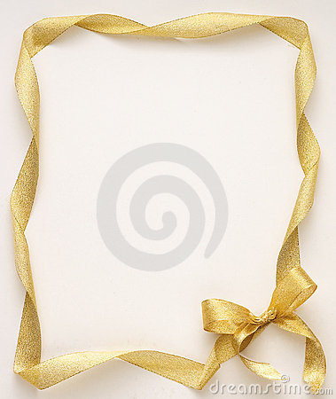 Free Golden Ribbon Royalty Free Stock Images - 2516979