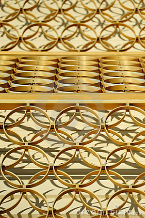 Golden rings abstract