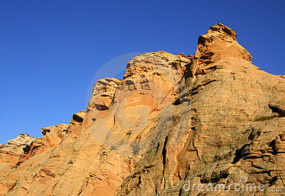 Golden Rock Formations