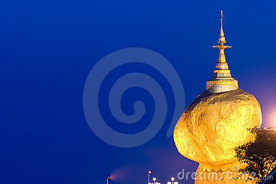 Golden Rock,  Myanmar.