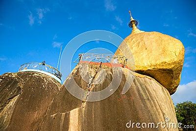 Golden Rock,  Myanmar.