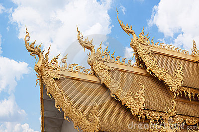 Golden roof