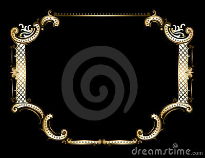 Golden Royal Ornate Frame