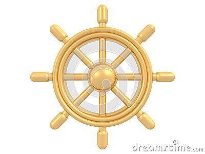 Golden rudder