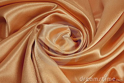 Golden satin background