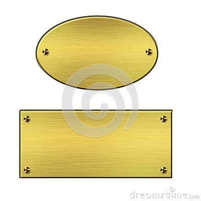 Free Golden Signs Stock Images - 25130844