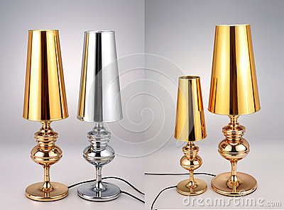 golden silver table lamps luxury table lights gold foil desk lamp foil