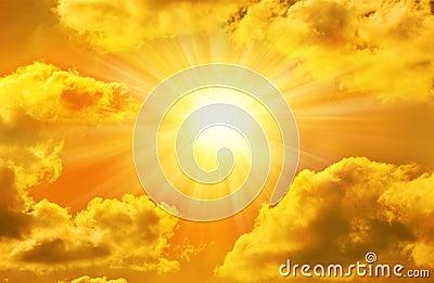 Golden Sky Sun