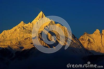 Golden Snow Mountain of Meili,China