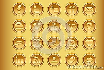 Golden Social Media v1 Editorial Photo