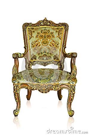 Free Golden Sofa Royalty Free Stock Photography - 27879107