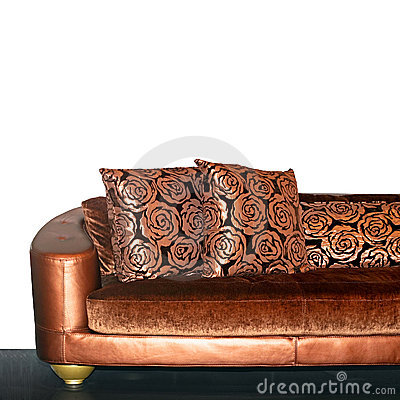Free Golden Sofa Royalty Free Stock Images - 6821909