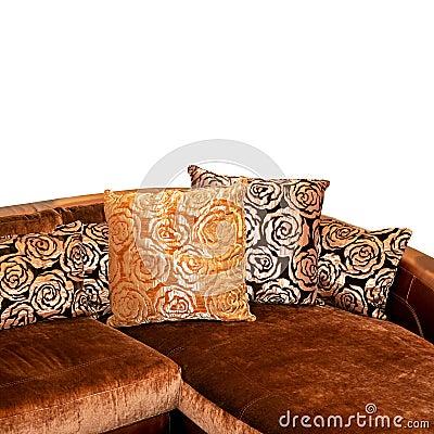 Free Golden Sofa Corner Royalty Free Stock Image - 6589886