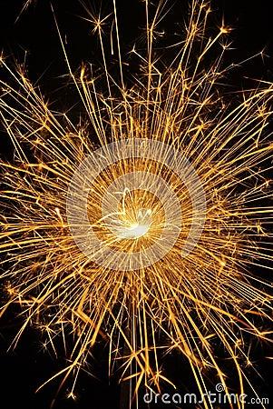 Free Golden Sparkle Royalty Free Stock Photos - 16611458