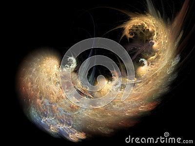 Golden Spiral Nebula