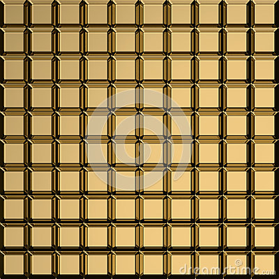 Golden square pattern