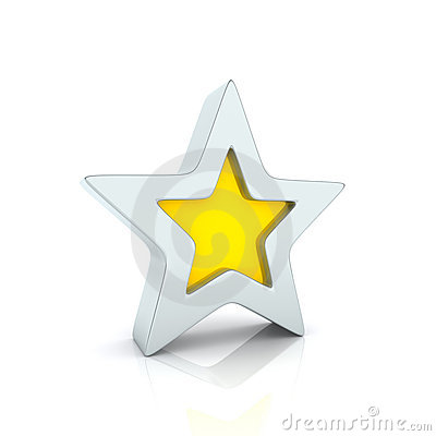 Free Golden Star Stock Photo - 15828000