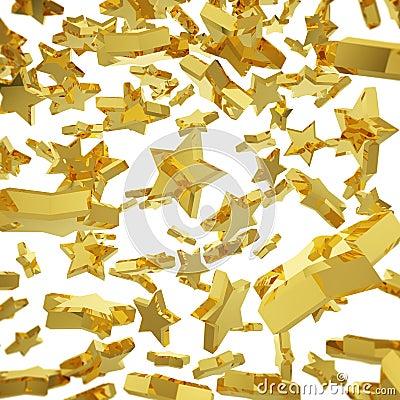 Golden star fall