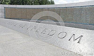 Golden Stars World War II Memorial