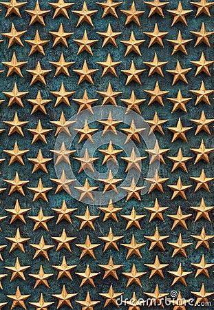Golden Stars WWII Memorial