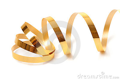 Golden streamer
