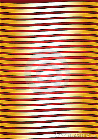 Golden Stripes Background