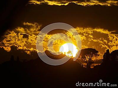 Golden sunset 2