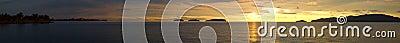 Golden Sunset Panorama