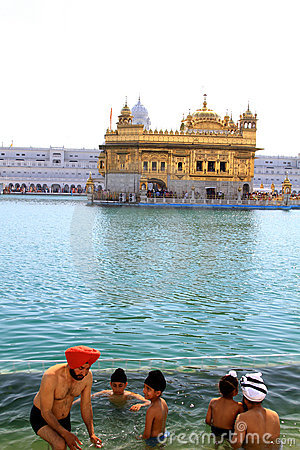 Golden temple Editorial Stock Photo