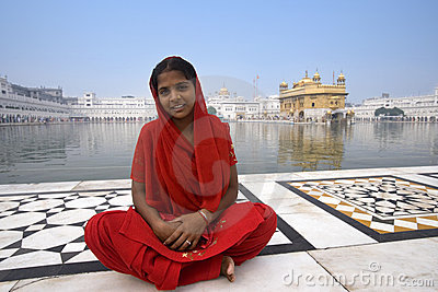 Golden Temple of Amritsar - India Editorial Photography