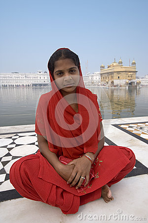Golden Temple of Amritsar - India Editorial Photo