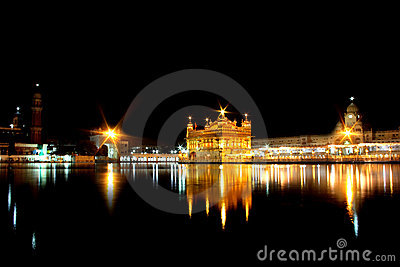 The Golden Temple, Amritsar, Punjab, India Editorial Stock Photo
