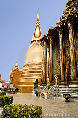 Free Golden Temple Grand Palace Bangkok Thailand Stock Photo - 16583260